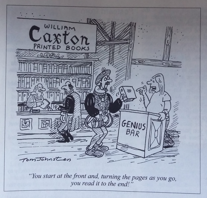 Tom Johnston cartoon in 'Private Eye' 19th May - 1st June 2017, No. 1444.