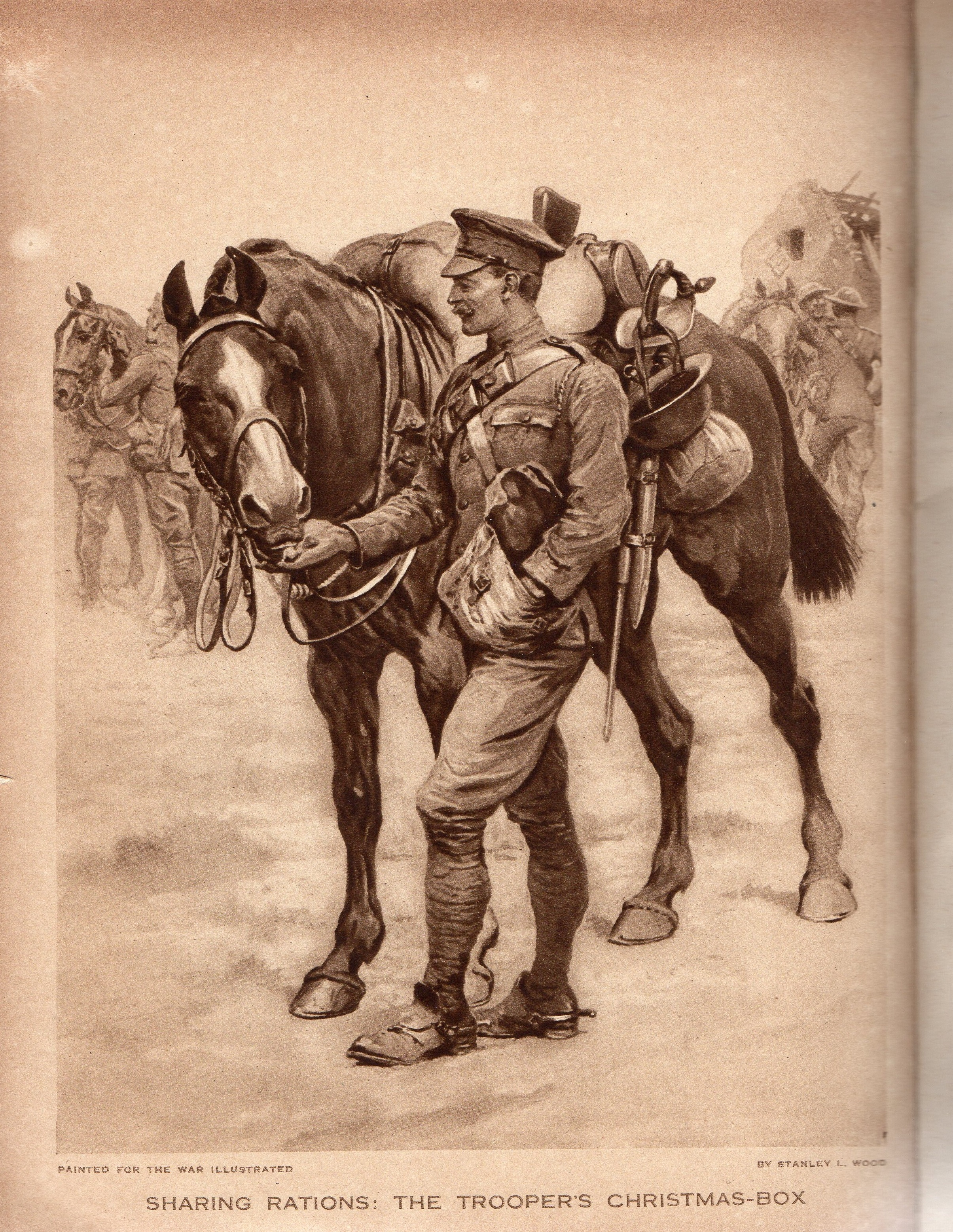 Fig 4.4 Sharing Rations - The War Illustrated - Rebellion Publishing (1)